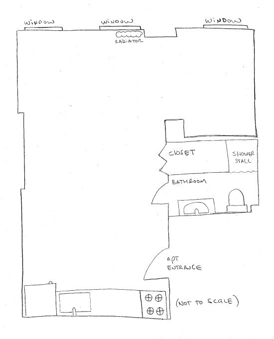 blank floor plan
