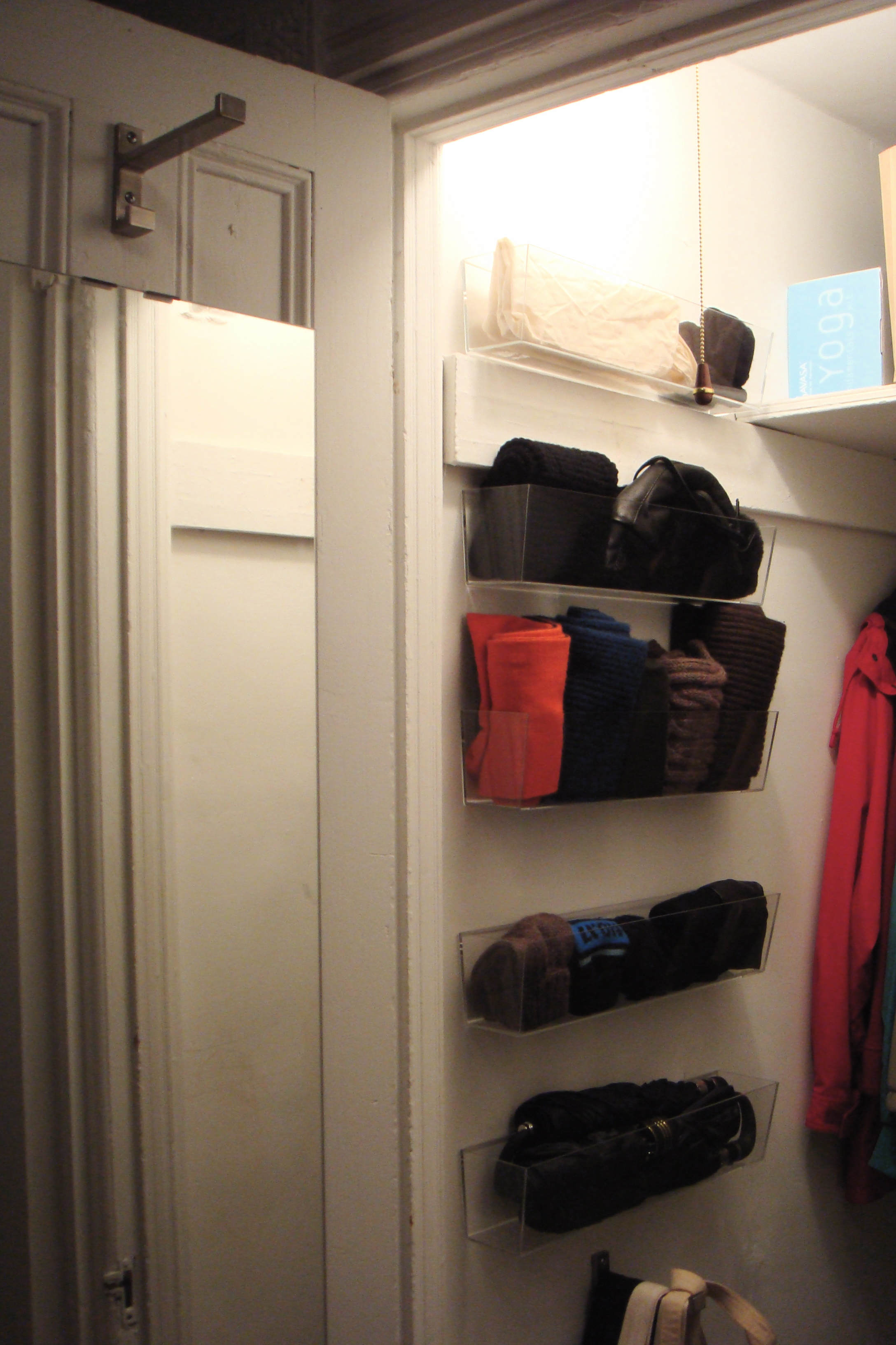 Narrow Linen Closet Ideas   Coat Closets