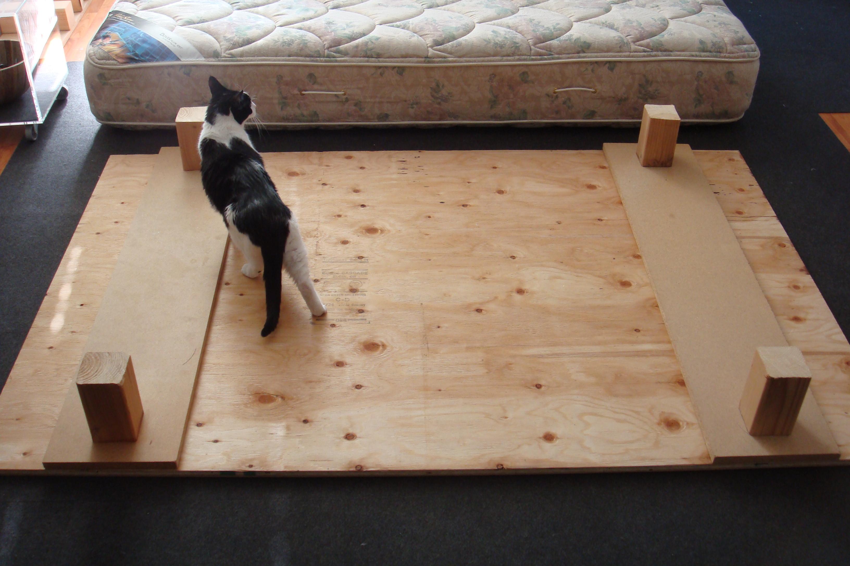 how to make a platform bed