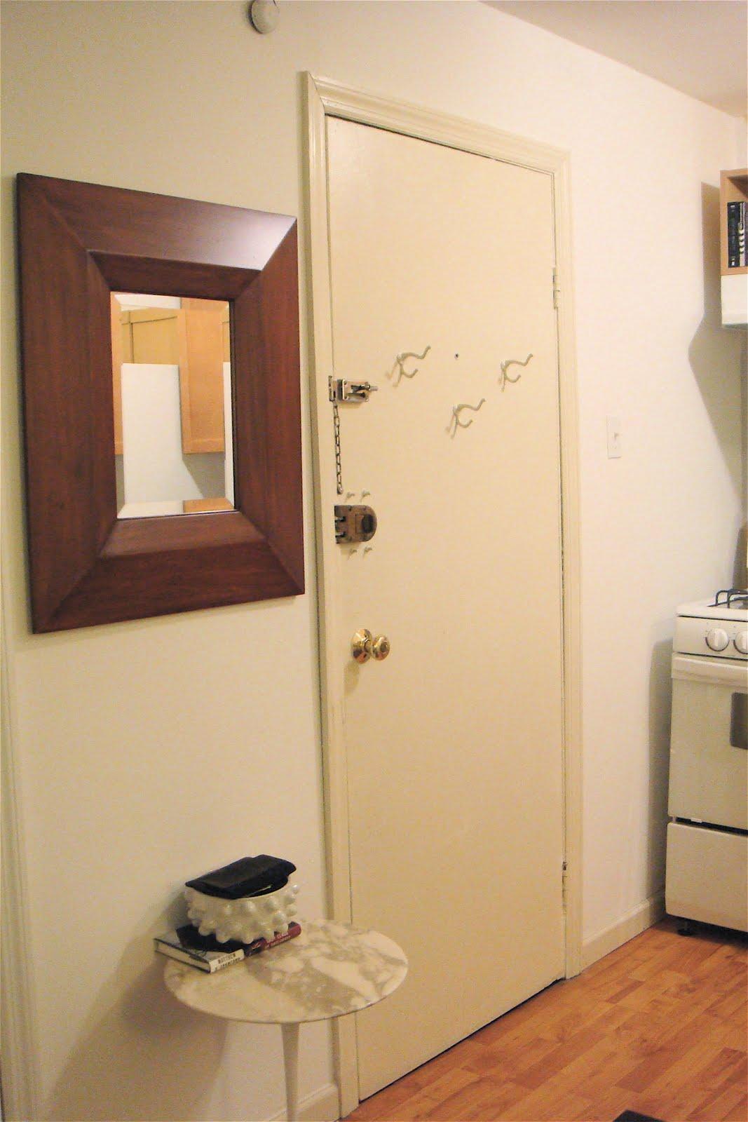 my apartment progress… the entry «