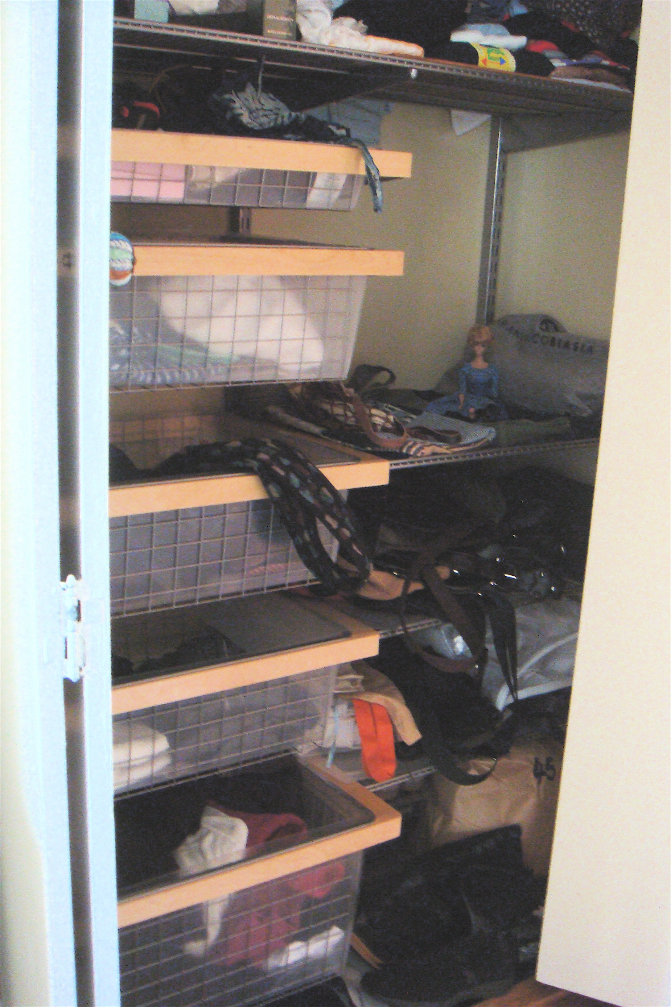 closets closet before after assembly diameter elfa with plus rod and