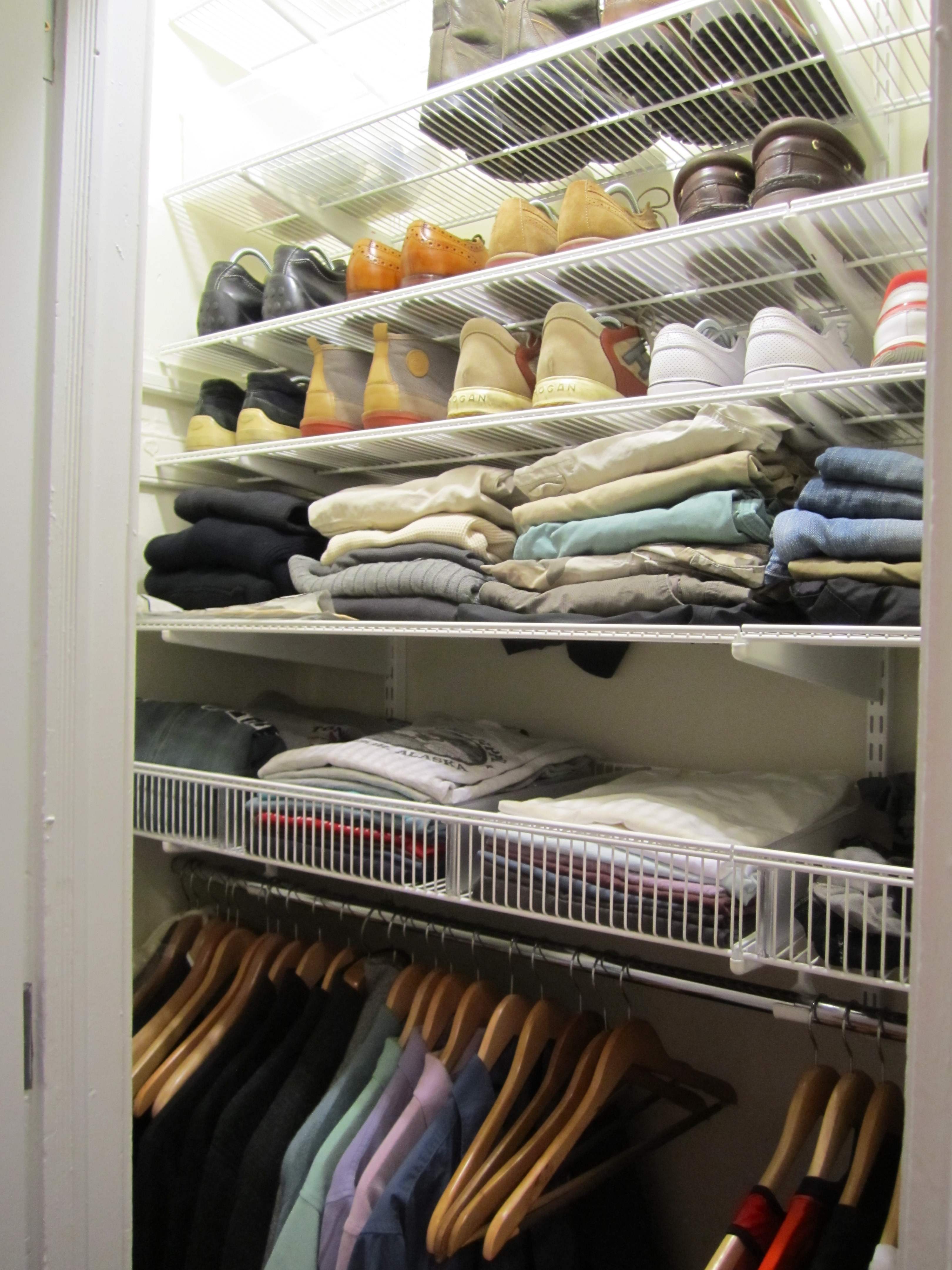 i want to share more of what i do but sometimes what i do doesnu0027t need lengthy or have big lessons sometimes itu0027s just a new closet