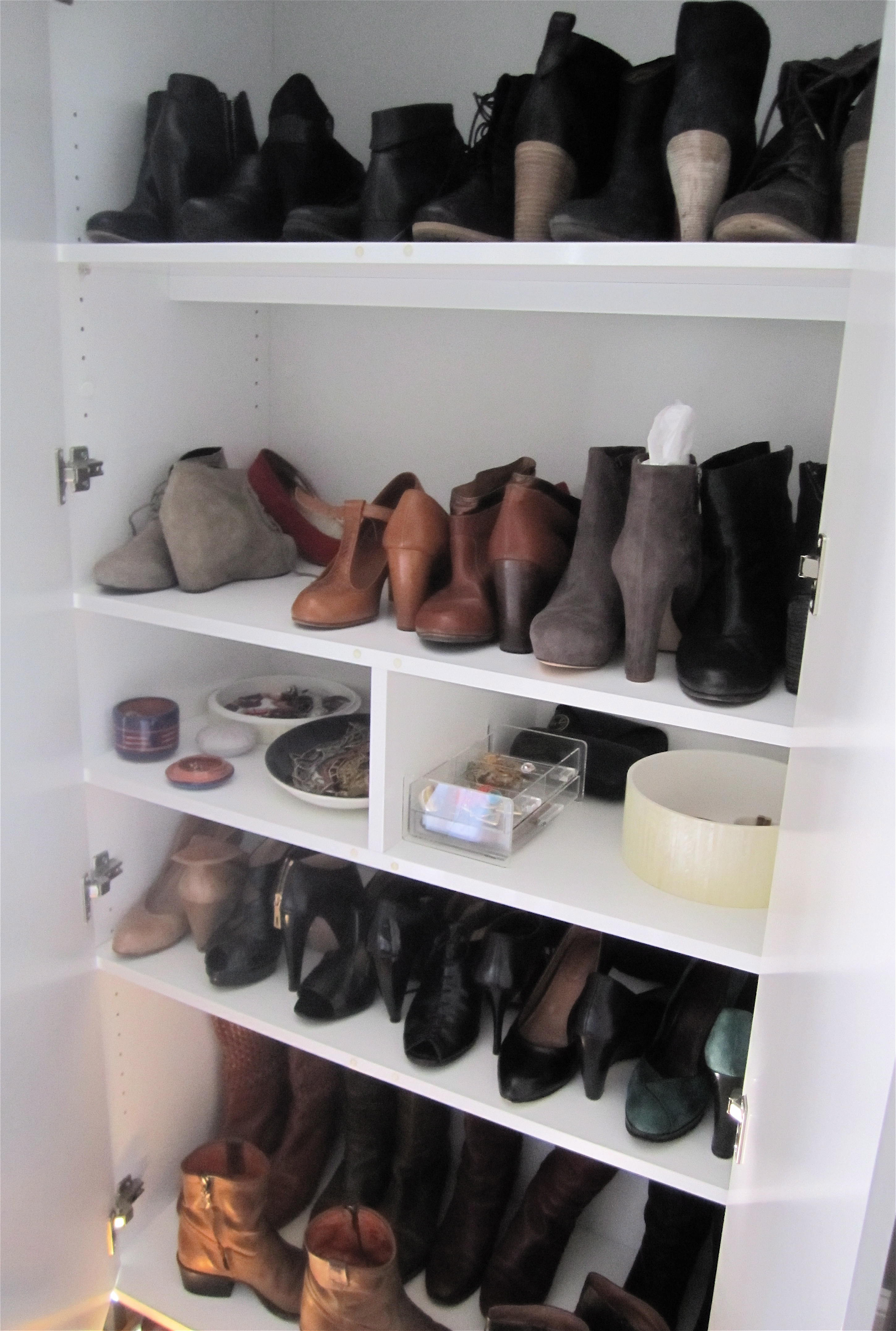 ideas shoe size of rack closet the outstanding full photo home garage wooden vertical idea decofurnish organization storage large open black