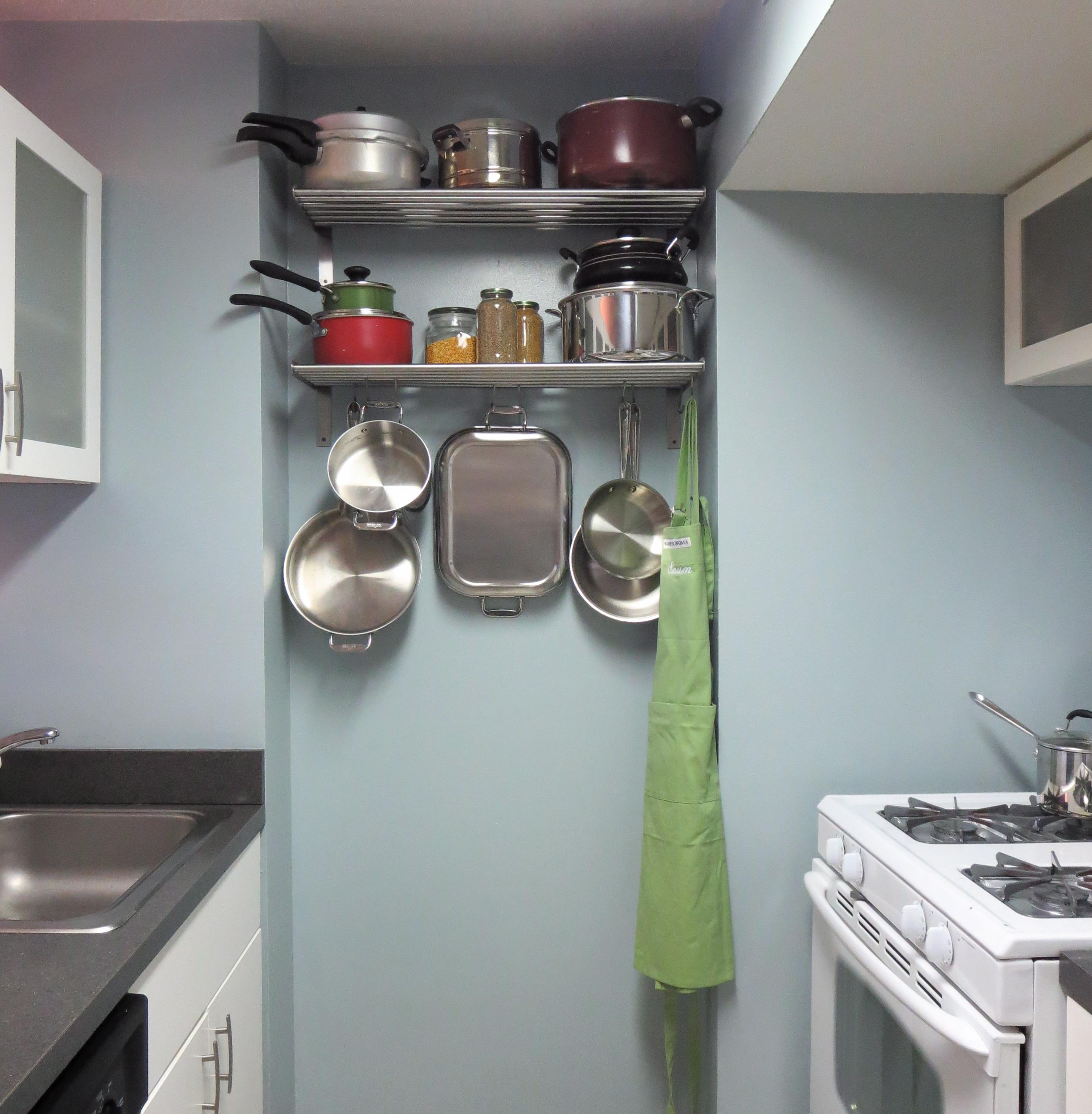 pots + pans storage «