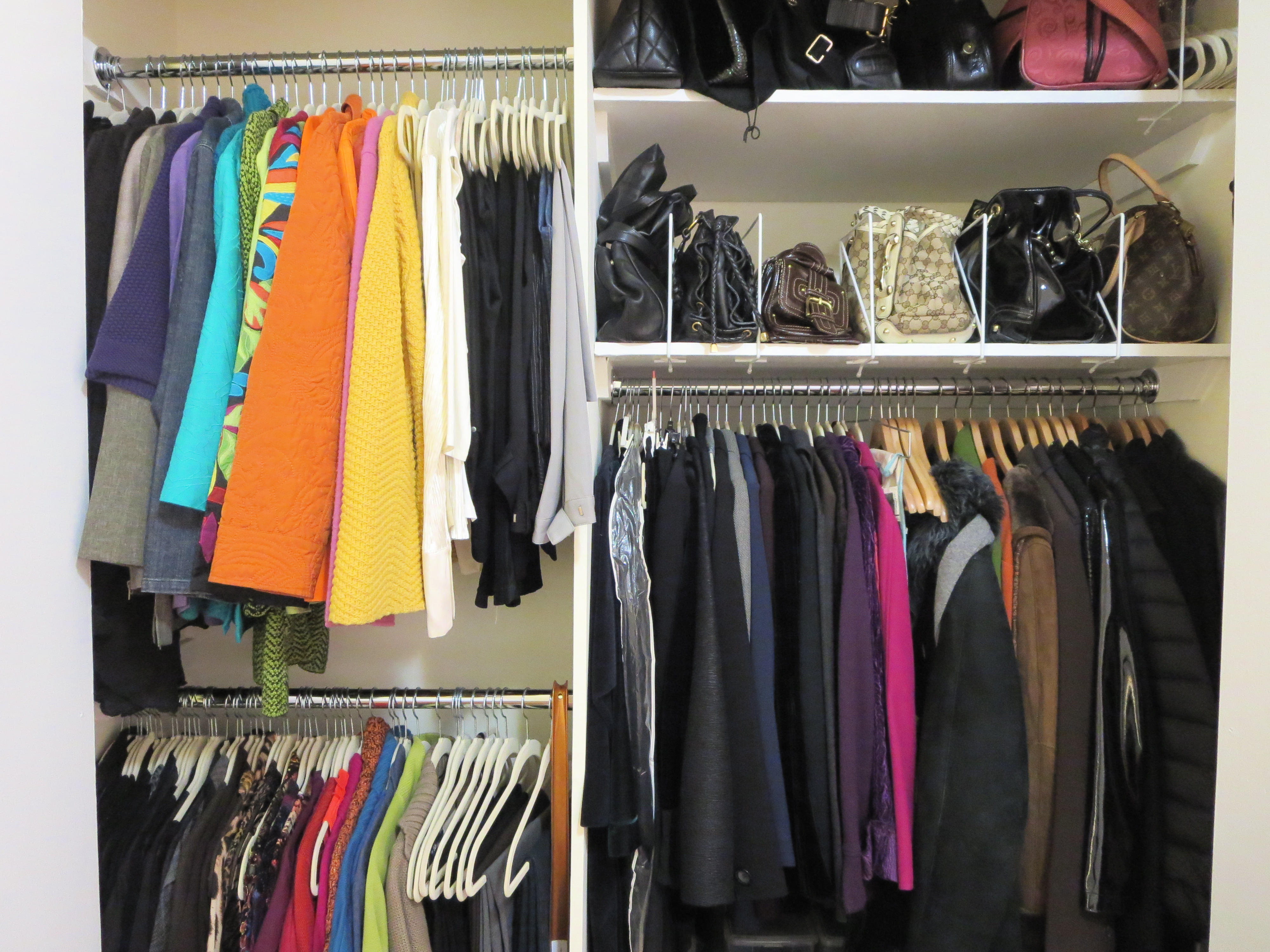 The Order Obsessed Ways To Add Lighting A Closet Without Wiring Apartment Therapy Place Had Be Put Together Fast And As Inexpensive Possible Luckily I Was Able Reuse Existing Pieces From Previous